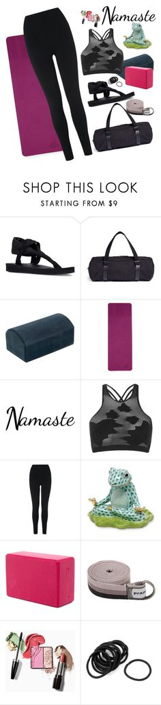 """Voice Message in a Bottle"" by chelsofly on Polyvore featuring Skechers, No Ka'Oi, prAna, adidas, Boohoo, L.K.Bennett and Herend"