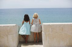 Ropa de fiesta para niñas de la marca portugues Knot Kids