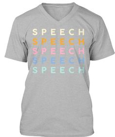 Show off your speechie style with t-shirts and sweatshirts from The Speech Bubble, SLP  #slp #teachertshirts #graphictee #sped #thespeechbubbleslp #schoolslp #slpeeps #speechlove