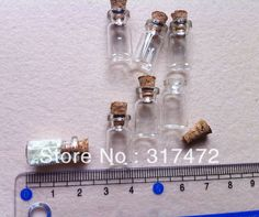 variety of tiny bottles