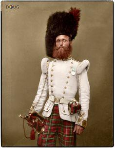 Drummer John Rennie  72nd (Duke of Albany's Own Highlanders) Regiment of Foot Aldershot 1856