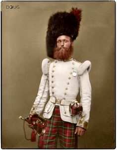 Drummer John Rennie 72nd (Duke of Albany's Own Highlanders) Regiment of Foot Aldershot 1856