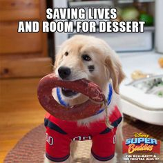 Saving lives and room for desert.