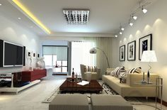 Modern Living Room Lighting Design 74 best living room - lighting images on pinterest | houses, living