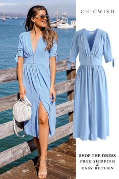 Search results for: 'Summer Edition' - Retro, Indie and Unique Fashion Spring Outfits, Trendy Outfits, Fashion Outfits, Womens Fashion, V Neck Dress, Dress Me Up, Evening Dresses, Summer Dresses, Unique Fashion