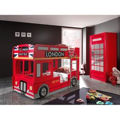 Home Etc London Bus Bunk Bed