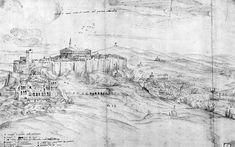 1667, BOETTICHER, Adolf, check the ilissos bridge (bottom right)