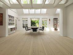 Douglas fir wood flooring - floor soap white - Dinesen