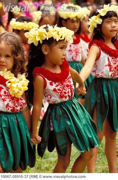 I took hula lessons as a child.