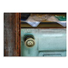 Found it at Wayfair.ca - 'Please Push' by Golie Miamee Photographic Print
