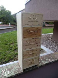 21 Meilleures Images Du Tableau Mes Creations Wine Boxes Drawers