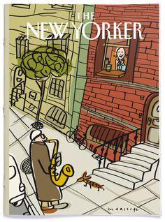 the new yorker The New Yorker, New Yorker Covers, Magazine Cover Design, Magazine Art, Magazine Covers, Capas New Yorker, Illustrations, Illustration Art, Jazz Art
