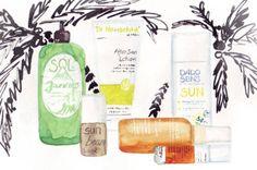 Hautpflege für den Sommer-Beauty-Produkte #hautpflege #sommer #beauty