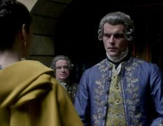 Comte St. Germain (Stanley Weber) in Season Two of Outlander on Starz, Episode 3: Useful Occupations And Deceptions via  http://kissthemgoodbye.net/PeriodDrama/thumbnails.php?album=537