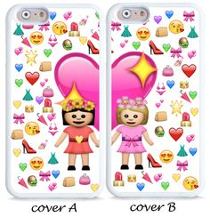 Best friends emoji cases for iPhone and Samsung models