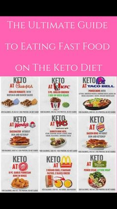 Guide to Fast Food on Keto – Let's Do Keto Together! Guide to Fast Food on Keto – Let's Do Keto Together!,A Keto Stuck somewhere & your only food choice is fast food? Don't worry! There are hundreds of fast food options perfect for a low carb keto diet! Low Carb Meal, Keto Meal Plan, Diet Meal Plans, Ketogenic Diet, Ketogenic Recipes, Diet Recipes, Diet Meals, Paleo Diet, Keto Foods