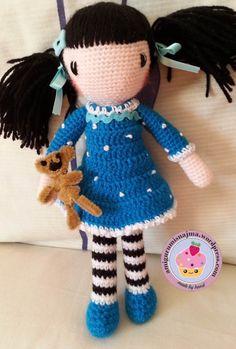 doll crochet gorjuss ganchillo najma