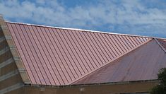 Building owners and operators are skeptical about copper roofs, but copper does a great job. It is also the only roofing system that improves with age. Metal Roofing Systems, Roofing Materials, Metal Roof Cost, Copper Work, Roofing Companies, Roof Installation, Common Myths, Aesthetic Value, Energy Use