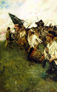 American Revolution - The Battle of Brandywine, also known as the Battle of Brandywine Creek, was fought between the American army of Major General George Washington and the British-Hessian army of General Sir William Howe on September11, 1777.