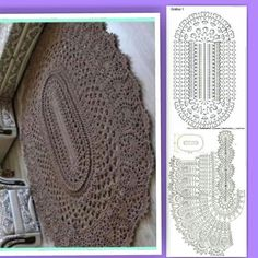 Best 12 Big crochet ivory rug, with volume elements, oval area rug х 75 cm), doily rug, yarn lace mat – SkillOfKing. Crochet Doily Rug, Crochet Rug Patterns, Crochet Carpet, Crochet Tablecloth, Crochet Flowers, Crochet Stitches, Dress Patterns, Diy Crafts Crochet, Crochet Home
