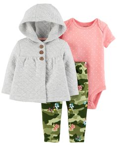 41a8c04806cc1 3-Piece Little Jacket Set. Carters Baby ClothesBabies ClothesCarters Baby  GirlBaby   Toddler ...