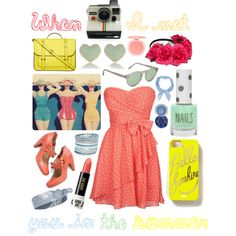 In The Summer by the-retro-radio on Polyvore