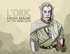 L'oric: High Mage of The Rebellion by YapAttack.deviantart.com on @DeviantArt