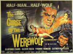 """""""The Curse of the Werewolf"""", 1961"""