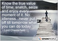 Motivational Quote of the Day by Lord Chesterfield