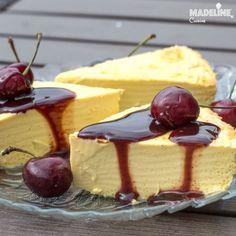 Crema de zahar ars cu mascarpone / Mascarpone egg custard - Madeline's Cuisine My Dessert, Food Cakes, Homemade Cakes, Cheesecake Recipes, Custard, Toffee, Deli, Bakery, Deserts