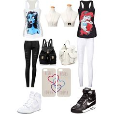 best friends outfits