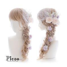 . . Gallery 268 . Order Made Works Original Hair Accessory for WEDDING . #ペールトーン のトリプル #ローズ に #ドレス に合わせた小花をちょちょん  #かすみ草 でふんわり仕上げた #エレガント な #ラプンツェル ふうスタイル  小物の #チュール が #ドレッシー な雰囲気を演出 ✨ . . #結婚式 #髪飾り #オーダーメイド #ウェディング #ブライダル #花嫁 #カラードレス . #花飾り #造花 #ヘアセット #ヘアアレンジ #フィッシュボーン . #hairdo #flower #hairaccessory #picco #wedding #hairarrange  #dress #bridal . . .
