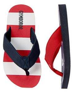 American Flag Flip Flops from Gymboree on Catalog Spree, my personal digital mall.