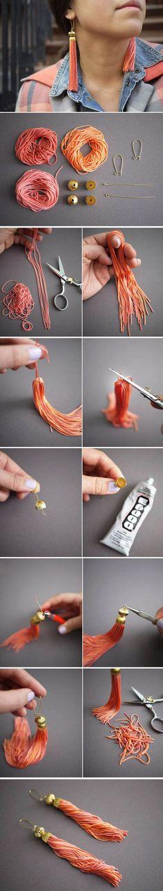 Very Beautiful Ear Drop | DIY & Crafts Tutorials