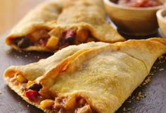 Pillsbury® pie crust makes creating Mexican empanadas a snap! Try these super easy empanadas with a fiesta of flavors.
