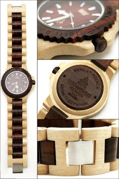 WeWood watches! Replanting trees with every watch purchased!