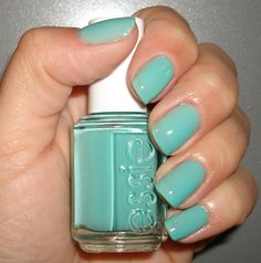 This is my favorite color nail polish right now. LOVE it!!!