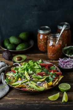 This is my idea of a healthier and possibly even better nachos recipe using loads of fresh crunchy salad greens, zesty salsa and reduced quantity of cheese as the toppings. I made this a few years …