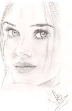 """Un boceto que hacia mientras experimentaba con """"Iluminación Profunda"""""""