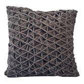 Found it at Wayfair.com - Cloud9 Design Diamond Pleat Velvet Square Pillow