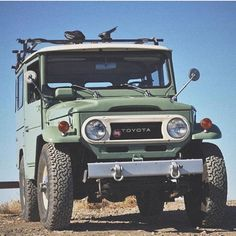 That green tho  Via @fj40landcruisers  #forgeoverland #adventure #adventures #adventuremobile #awesome #badass #want #need #wander #wanderlust #edc #nature #earth #explore #expedition #xplore #gear #camping #offroad #outside #outdoors #overland #neverstopexploring #photography #rei1440project #vintage #classic #toyota #landcruiser #fj40