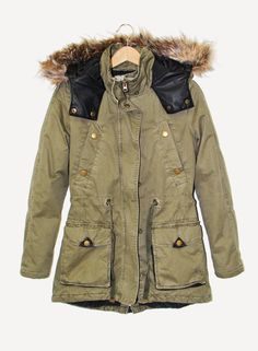 Cotton Maple Parka. #hotforholiday Cozy Fashion, Fashion Outfits, Holiday Wishes, Clothing Styles, Parka, Military Jacket, Fall Winter, Garage, My Style
