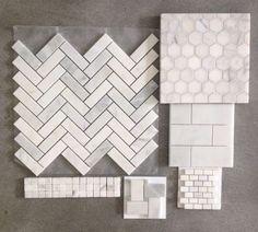 56 Ideas For Bath Room Classic Interior Hexagon Tiles Bathroom Floor Tiles, Bathroom Renos, Bathroom Vanities, Bathroom Ideas, Bathroom Pictures, Budget Bathroom, Kitchen Floor, Master Bath Remodel, Remodel Bathroom