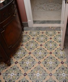 Tile provided by Architectural Ceramics