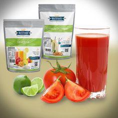 Beneficios del jugo de tomate: El jugo de tomate es importante fuente de vitaminas A y C, las cuales pueden combatir los radicales libres e impedir el proceso de oxidación de las células. Además contiene vitamina K, las vitaminas del complejo B, muy buenas cantidades de hierro, calcio, sodio, potasio, magnesio y fósforo. sirve para el corazón, para la artritis, Para la presión arterial, Para el cuidado de la piel * 1 Kg.Tomates maduros (tipo Pera tienen más jugo) http://on.fb.me/1UgwNyk