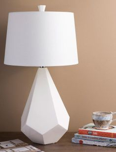 Faceted table lamp | lighting design