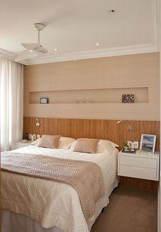 Criar ninchos na parede é uma boa maneira de decoração aproveitando o espaço que temos! #casacasual #dica