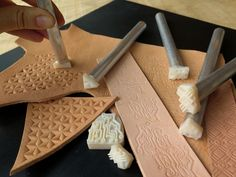Create and 3D print your own custom leather tooling stamps