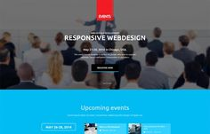 Event Manager - powerful, #lightweight #Joomla template made to help you present your #events - business #meeting, music festivals etc.