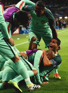 Cristiano Ronaldo loves football.